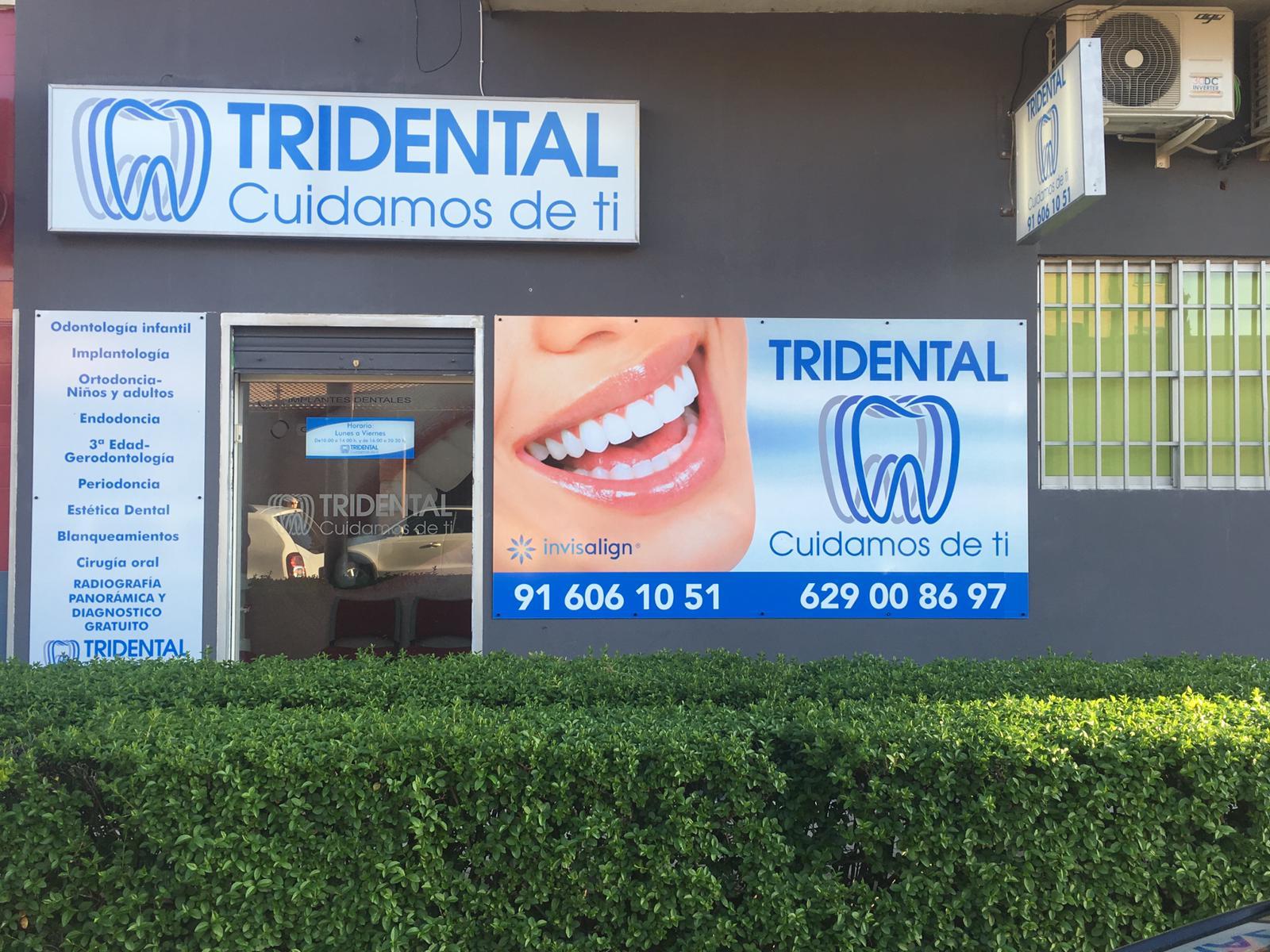 Fachada clinica dental fuenlabrada - Tridental